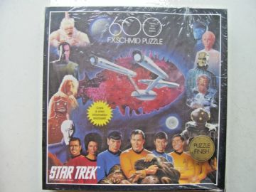 Star Trek 600 Piece Jigsaw By FX Schmid NEW & SEALED